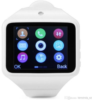 Kenxinda With Bluetooth, Connect With Smartphone Smartwatch (White Strap)