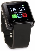 ROOQ Digital/Analog Smart Watch Smartwatch (Black Strap)