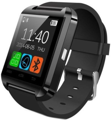 PRS For Moto G3 Black Smartwatch (Black Strap L)