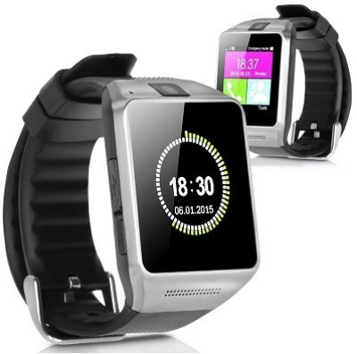 Attire Stylish Smartwatch (Black Strap)