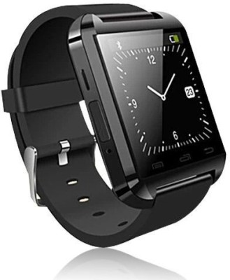 Speed U8 Bluetooth Smartwatch (Black Strap)