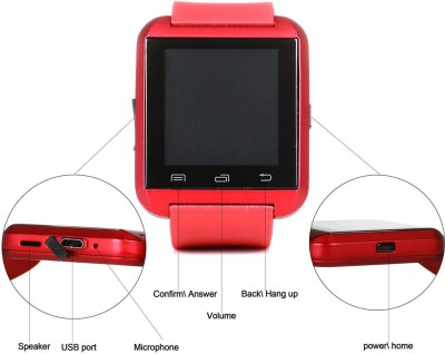 IGS IGS002 Smartwatch (Red Strap)