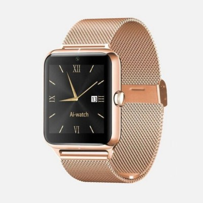Maya Smart Watch with heart rate Smartwatch (Brown Strap)