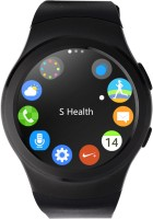 Bingo C4 BLACK Sim Support Absolute Disc Touch With Android & IOS Support Smartwatch (Black Strap)