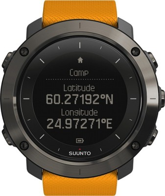 Suunto Traverse Amber Orange Smartwatch (Orange Strap)