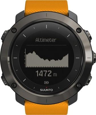 Suunto Traverse Amber Orange Smartwatch (Orange Strap)