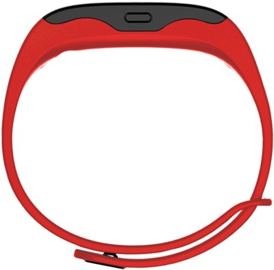 Portronics Yogg Red Smartwatch (Red Strap)
