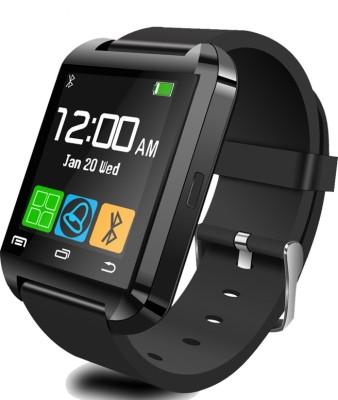 Cinco Advanced U8 Elegant Black Smartwatch (Black Strap)