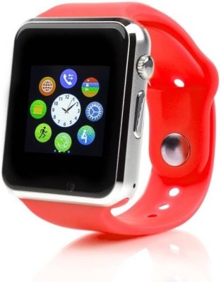 MM APGR with SIM card slot, 32Gb Memory and Fitness Tracker Smartwatch (Red Strap)