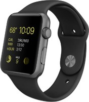 Apple Sport Watch With Black Sport Band 42 Mm Case Smartwatch (Black)