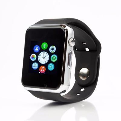 Zakk A1 Black Smartwatch (Black Strap Free Size)
