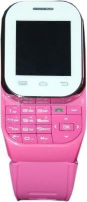 Kenxinda W1 Smartwatch (Pink Strap Free Size)