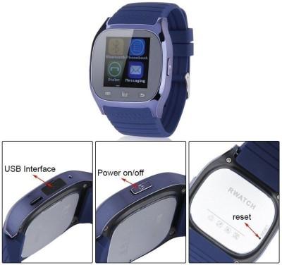 Qtec SW315 Smartwatch (Blue Strap)