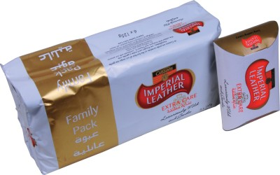 Cussons Imperial Leather Extra Care Family Pack of 6