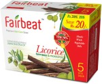 Fairbeat Licorice Soap Enriched With Jojoba&Oilve Oil