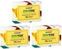Healthbuddy Zerotox Handmade Soap Mix Fruit, 3 Packs Of 125 Gm Each (375 G)