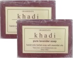 Khadi Pure Lavender Soap Pack of 2
