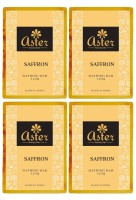 Aster Luxury Saffron Bathing Bar 125g - Pack Of 4 (500 G)