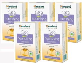 Himalaya Herbal Nourishing Baby Soap (Pack of 5)