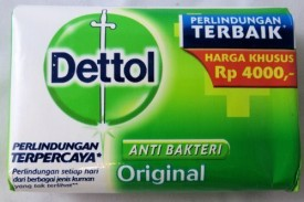 Dettol Anti-Bacterial Hand and Body Bar Soap Original (Pack of 12)