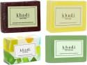 Khadi Handmade Soap Combo 1 - Pack Of 4 - 125 G