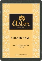Aster Luxury Charcoal Bathing Bar 125g - Pack Of 12 (125 G)