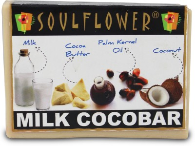 Soulflower Milk Cocobar Soap