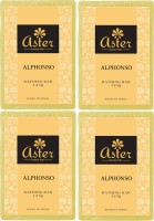Aster Luxury Alphoso Bathing Bar 125g - Pack Of 4 (500 G)