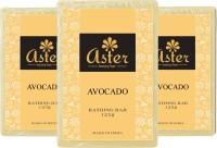 Aster Luxury Avocado Bathing Bar 125g - Pack Of 3 (375 G)