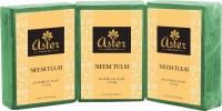 Aster Luxury Neem Tulsi Bathing Bar 125g - Pack Of 3 (375 G)