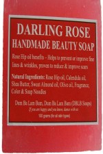 DBLB Darling Rose Handmade Natural Soap