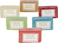 Khadi Natural Handmade Assorted Soaps-Pack Of 6 (150 G)