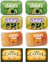 Dalan Castille & Glycerine Soap Combo Pack Of Olive, Daphne & Almond Oil. (800 G)