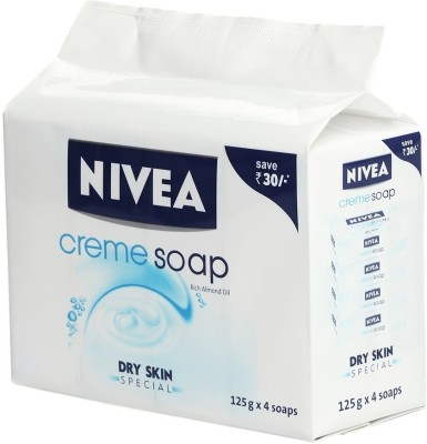 Nivea Creme Soap Rich Almond Oil Dry Skin Special Price In India Buy Nivea Creme Soap Rich