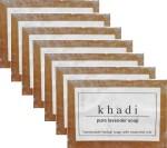 Khadi Handmade Pure Lavender Soap Pack of 7