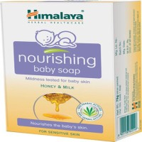 Himalaya Baby Nourishing Soap-75g(Pack Of-2) (75 G)