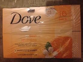 Dove Go Fresh Revitalize bars Total 16 count