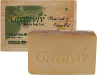 Greenviv Natural Patchouli & Olive Oil Soap (100 G)