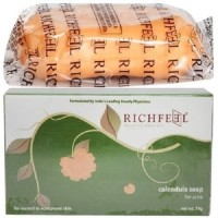 Richfeel Calendula Soap For Acne (Pack Of 4) (75 G)