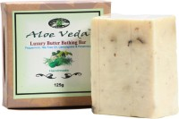 Aloe Veda Luxury Butter Bathing Bar - Peppermint & Lemon Grass (125 G)