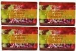 Lass Naturals Pack of 4 Lass Naturals LASS POMEGRANATE & GRAPES SOAPS