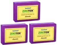Healthbuddy Zerotox Handmade Soap Lavender, 3 Packs Of 125 Gm Each (375 G)