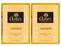 Aster Luxury Saffron Bathing Bar 125g - Pack Of 2 (250 G)