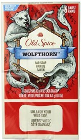 Old Spice Wild Collection Wolfthorn Men's Bar Soap 6 Count (2 PACK)