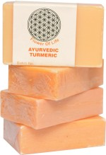 Flower of Life Ayurvedic Turmeric Soap Pack