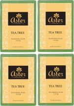 Aster Luxury Handmade Tea Tree Soap 125g Pack of 4