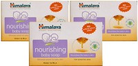 Himalaya BABY NOURISHING SOAP-125G (PACK OF -3) (375 G)