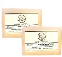 Khadi Natural Handmade Soaps - Pack Of 2 (250 G)