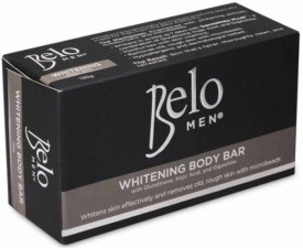Belo Men Whitening Bar With Glutathione & Kojic Acid