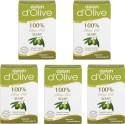 Dalan Pure Olive Oil Soap, 150g X 5 Pcs. - 750 G
